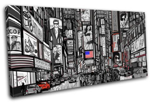 New York Illustrated City - 13-0571(01B)-SG21-LO
